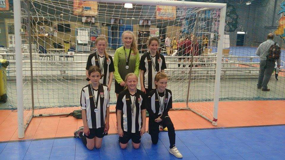 Bath City Youth Girls Futsal Champions